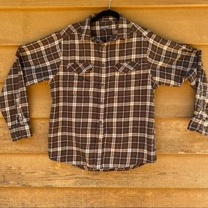 Craghoppers Flannel Button Down Shirt